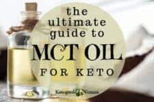 The ultimate guide to MCT oil for keto