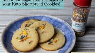 Simple Keto Shortbread Cookies