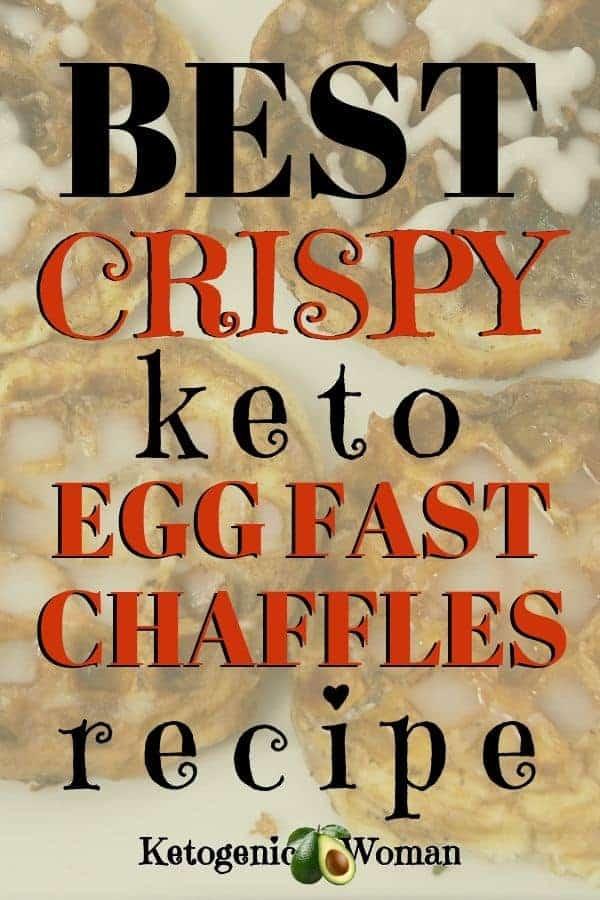 best crispy keto egg fast chaffles recipe