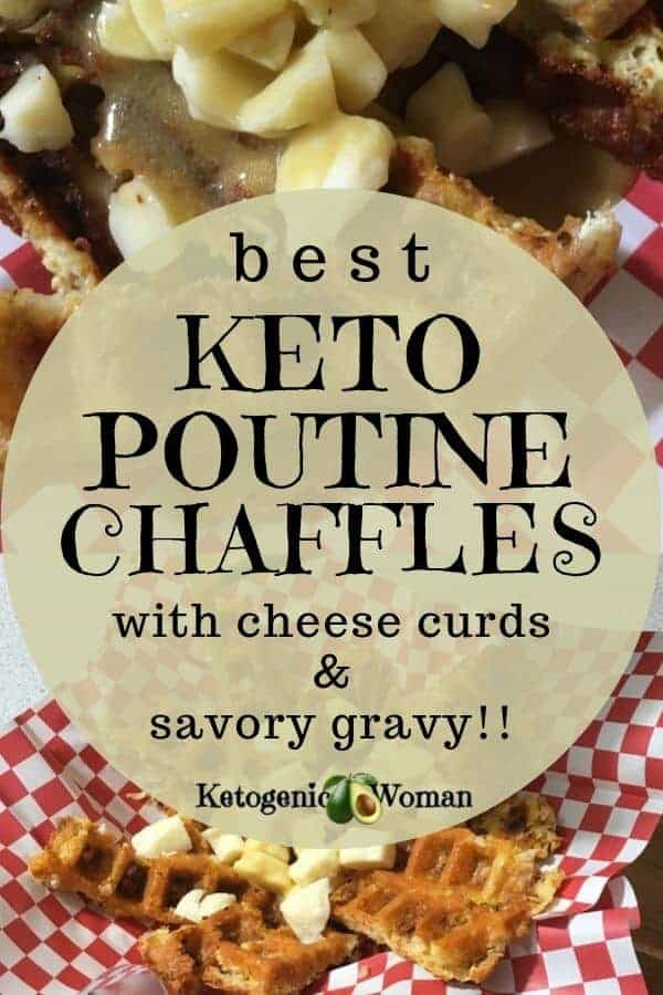 Best keto chaffle poutine reicpe