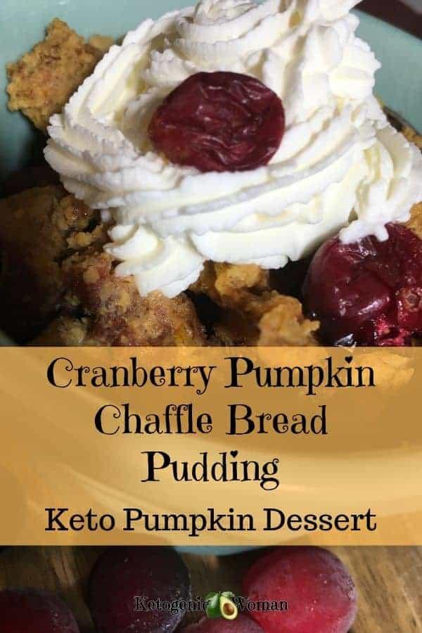 Keto Chaffle Pumpkin Dessert Recipe