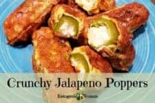 keto low carb jalapeno poppers