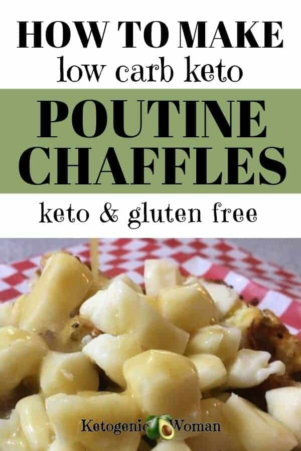 Best Keto Poutine Chaffle Recipe