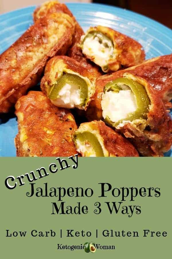 Crunchy Keto Jalapeno Poppers