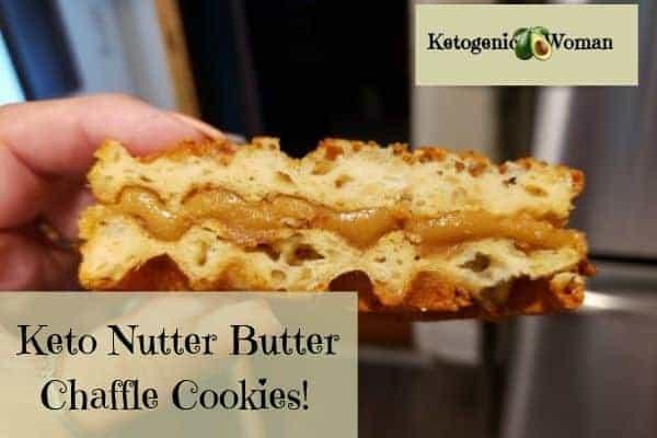 Keto peanut butter nutter butter cookies