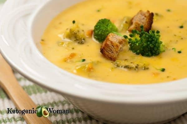 Keto Panera Broccoli Cheese Soup