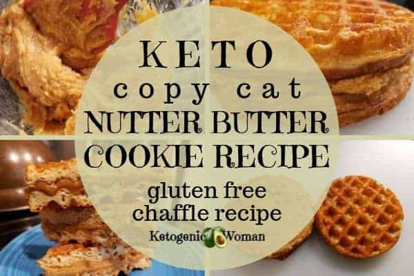 Keto and Gluten free Nutter butter cookie copy cat recipe