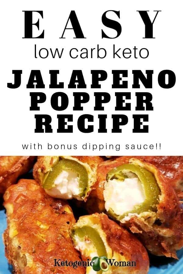 easy low carb keto jalapeno popper