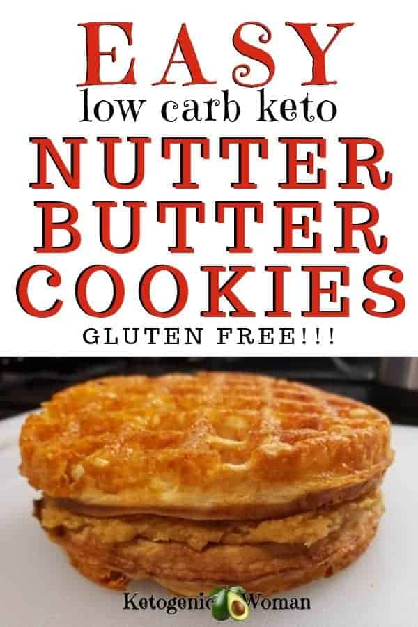 easy low carb keto nutter butter - gluten free