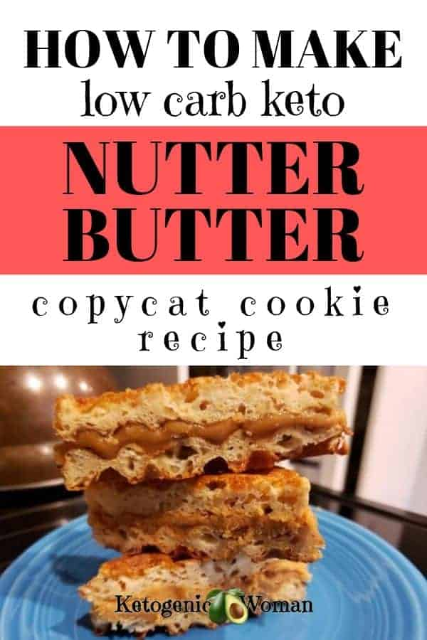how to make low carb keto nutter butter copy cat cookie recipe