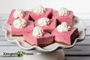 Keto Jello Dessert Squares