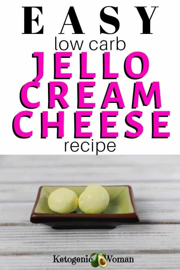 Low Carb Jello Cream Cheese recipe