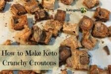 How to Make Keto Croutons