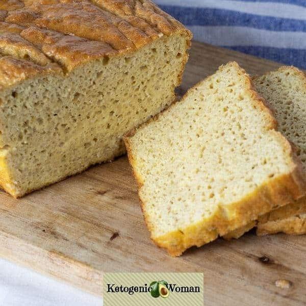 Sliced Carnivore Bread