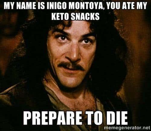 keto diet memes snacks
