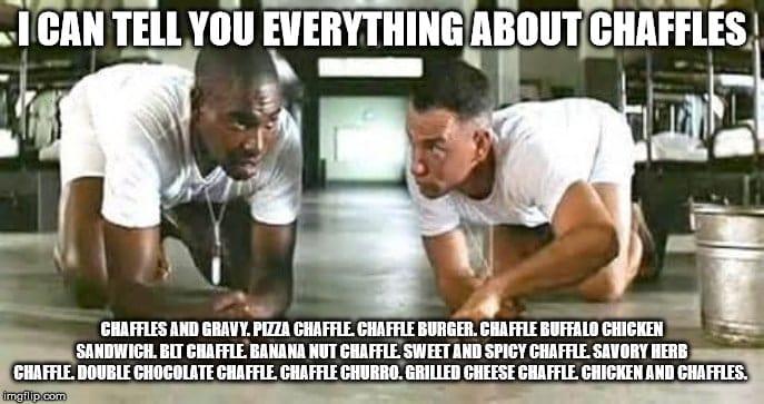 keto diet meme chaffle