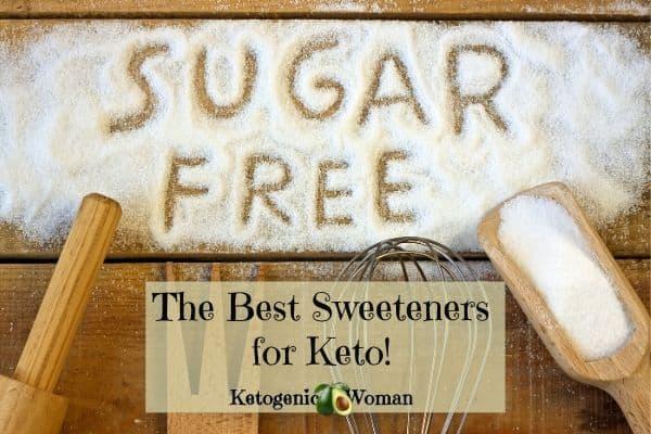 sugar free alternatives for Keto