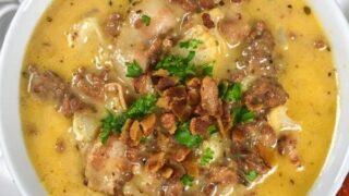 Savory Keto Bacon Cheeseburger Soup