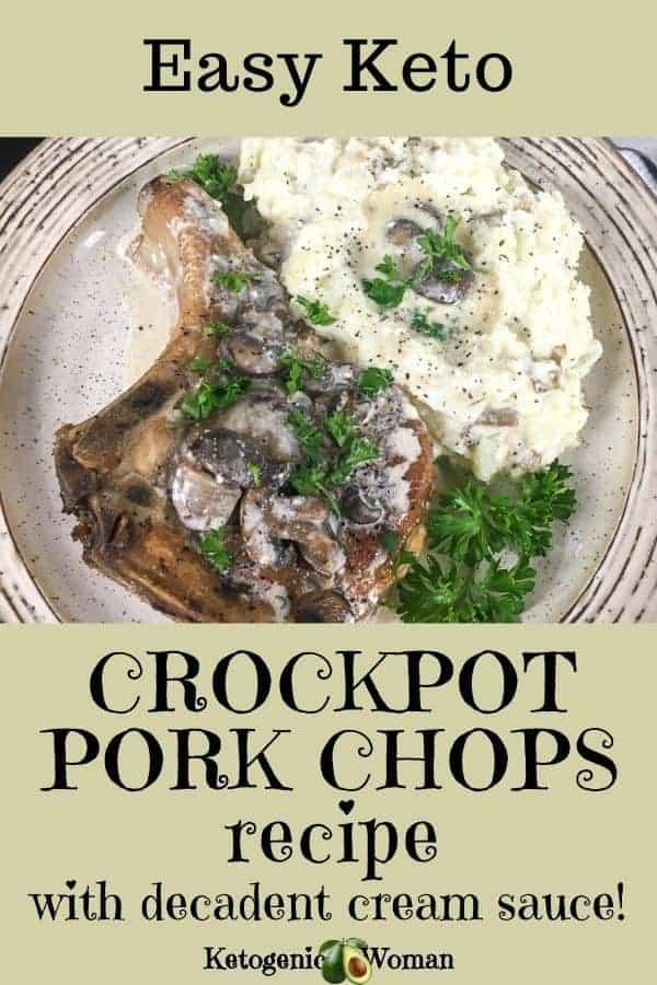 Keto Crockpot Pork Chops Recipe (1)