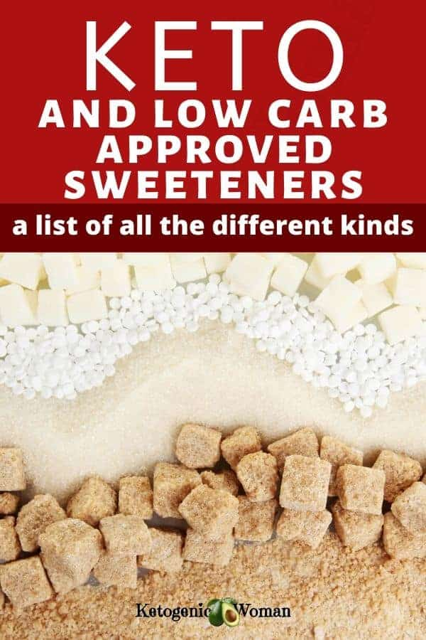 Keto approved low carb sweeteners