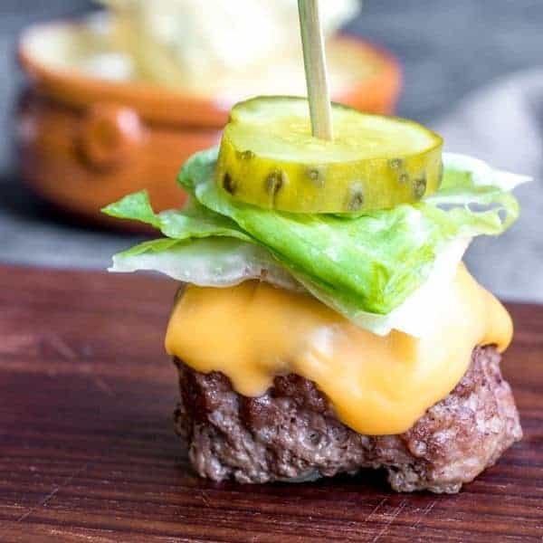 Low Carb Big Mac Bites {Keto}