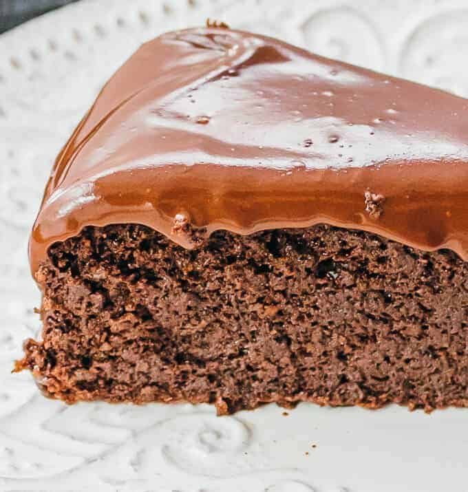 Keto Chocolate Cake (Low Carb, Gluten Free Recipe)