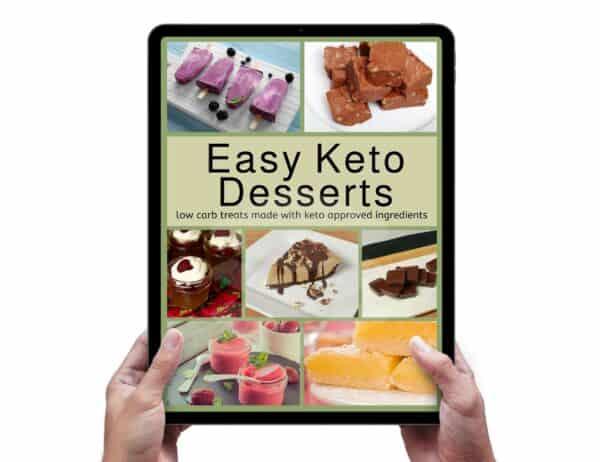 Easy Keto Dessert Recipes Ebook