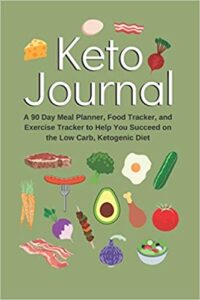 Purse size 90 Day Keto Tracking Journal