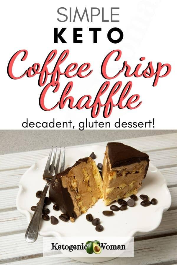 Keto Coffee Crisp Chaffle
