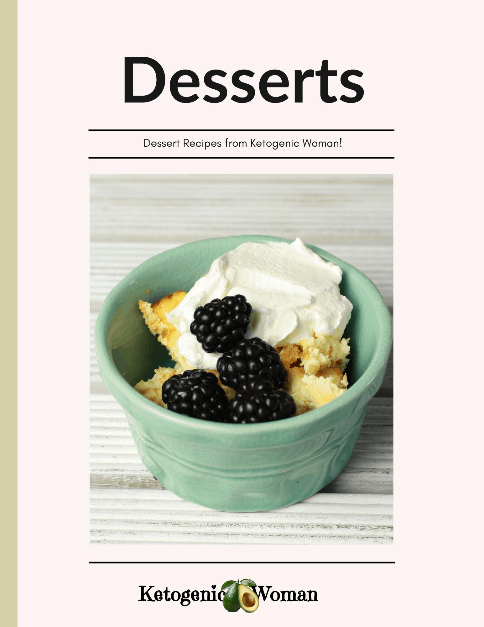 Keto Dessert Book Cover image