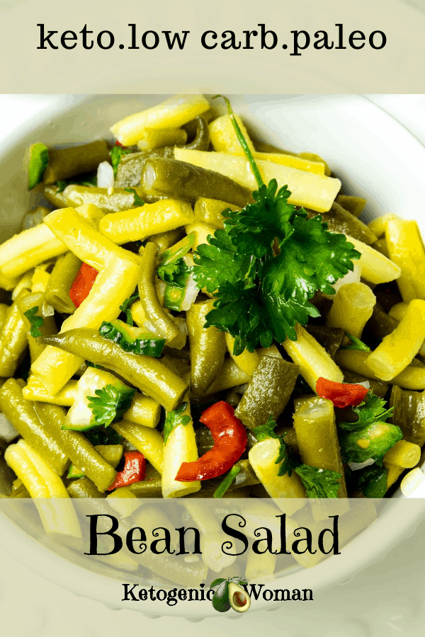 bean salad pinterest pin