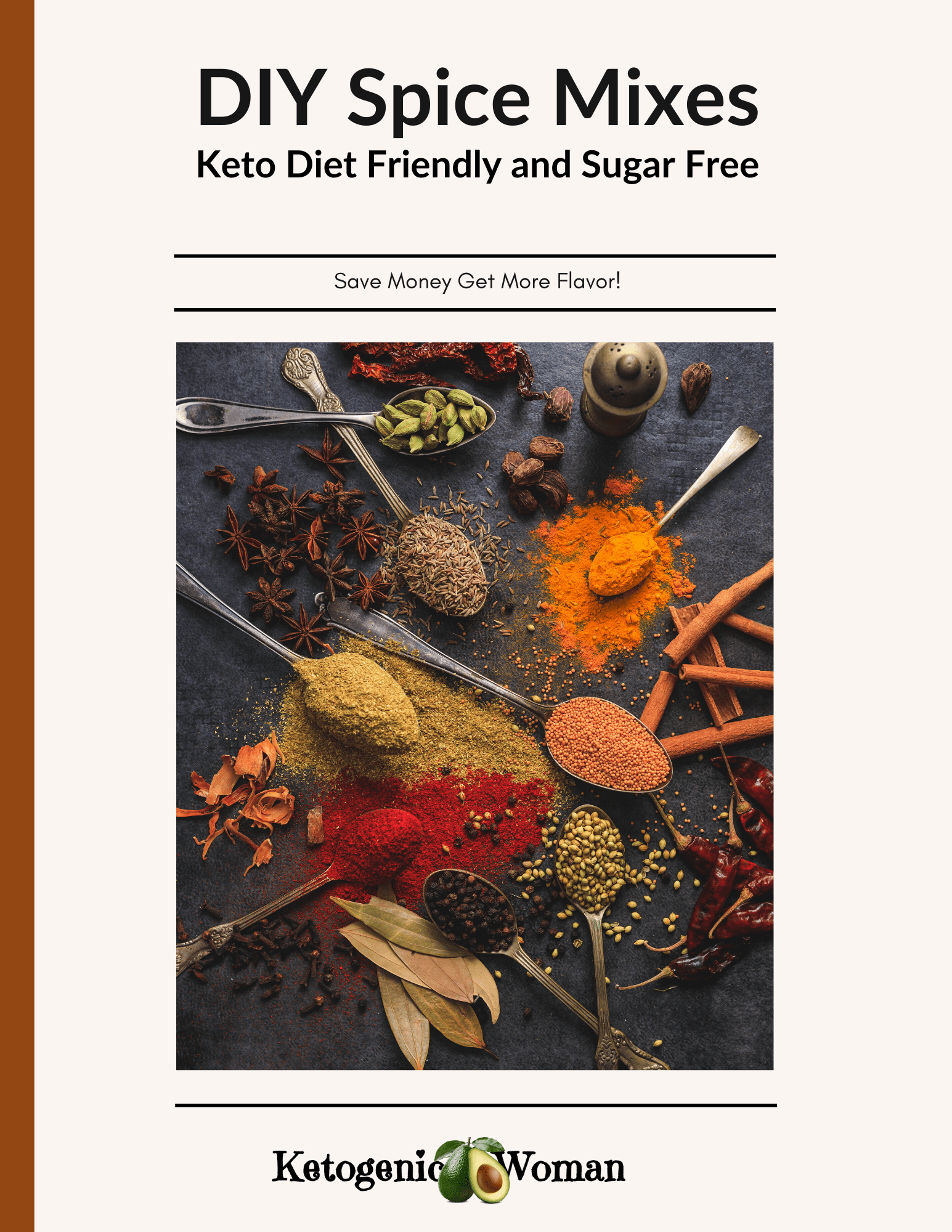 Ebook cover for Spice book